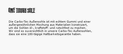 One Tough Sole